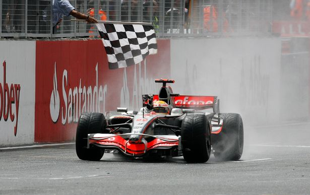 Lewis Hamilton's win at the 2008 British Grand Prix is one of the best of his career