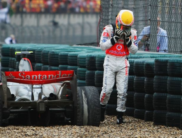 A mechanical issue at the 2007 Chinese Grand Prix deprived Lewis Hamilton of a title in his maiden season