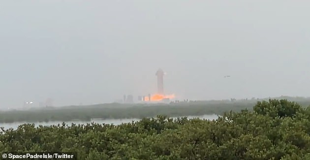 Shortly after, county officials called off the road closures around Boca Chica, confirming the launch will not go ahead today. But SpaceX was able to test a new Raptor engine before the scrub