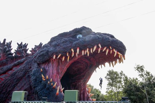 Godzilla Interception Operation Awaji - National Awaji-Island Institute of Godzilla Disaster MUST CREDIT: TM & ?TOHO CO.,LTD.