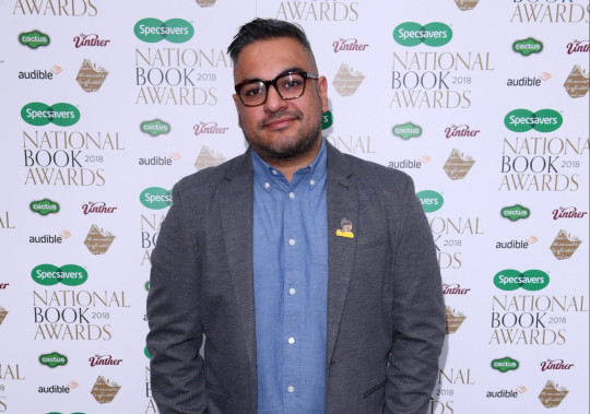 Nikesh Shukla The National Book Awards, London, UK - 20 Nov 2018