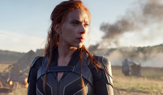Scarlett Johansson in scene for Disney's Black Widow