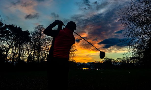 An early tee-off at Allerton Manor Golf Club