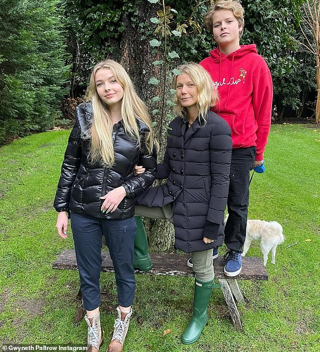 Experienced:Gwyneth has two children, 16-year-old daughter Apple and 14-year-old son Moses, with musician ex Chris Martin, 44, whom she divorced in 2016 after 13 years of marriage