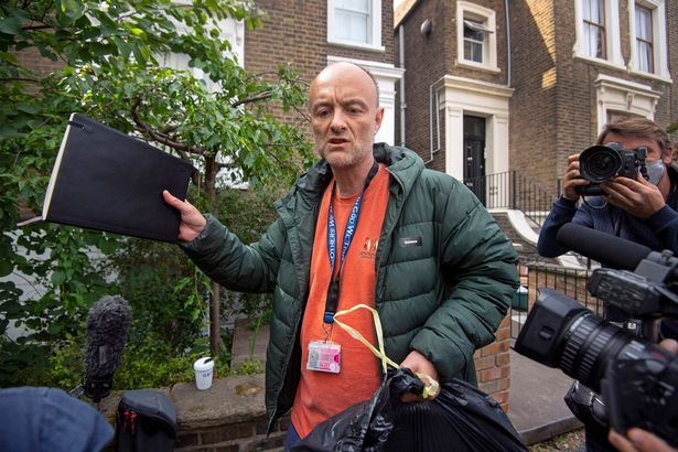 Dominic Cummings got a £40k pay rise during his last year working in No10