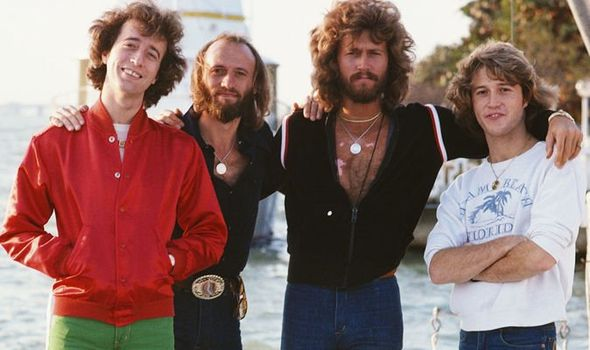 Andy Gibb and the Bee Gees