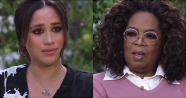 Meghan and Oprah parody video shows what happened before interview