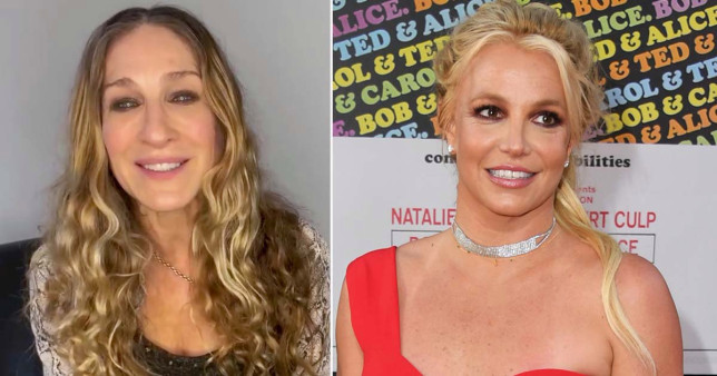 Britney Spears and Sarah Jessica Parker