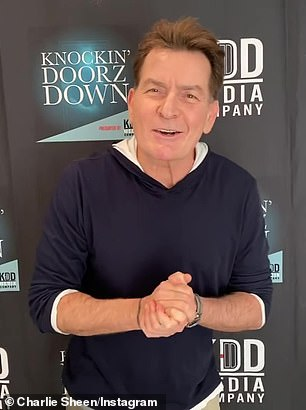 Charlie Sheen pictured on January 21
