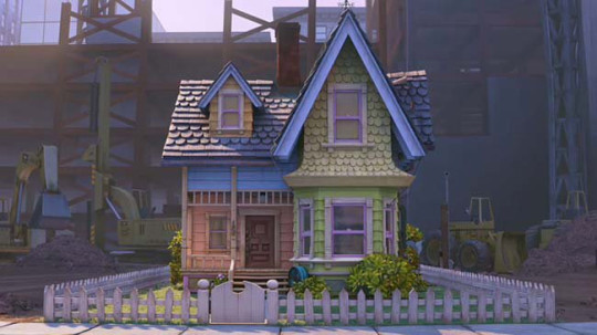 The house in the movie Up