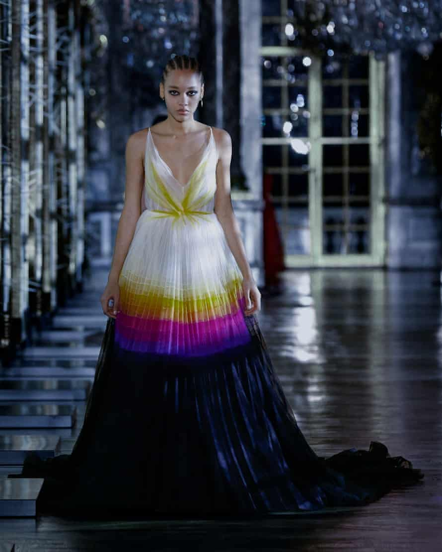 A dress from Dior's new collection.