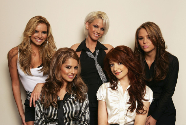 Girls Aloud - Nadine Coyle, Sarah Harding, Kimberley Walsh, Cheryl, and Nicola Roberts