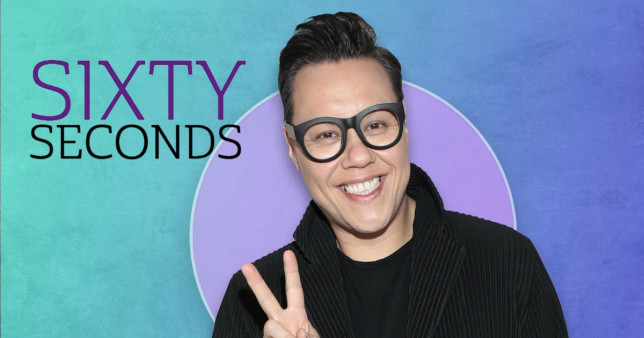 Gok Wan is having a Comic Relief rave