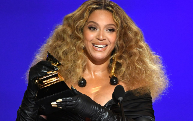Beyonce wins record number of Grammys