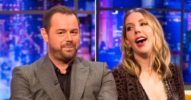 Katherine Ryan and Danny Dyer?s kids are ?disgusted? at their parents ?having a roll about? in lockdown
