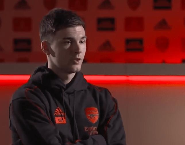 Kieran Tierney has spoken highly of his Arsenal teammate Emile Smith Rowe
