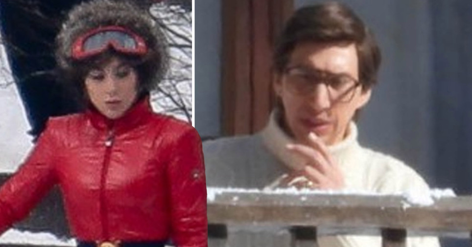 Lady Gaga and Adam Driver filming in Italy for House of Gucci