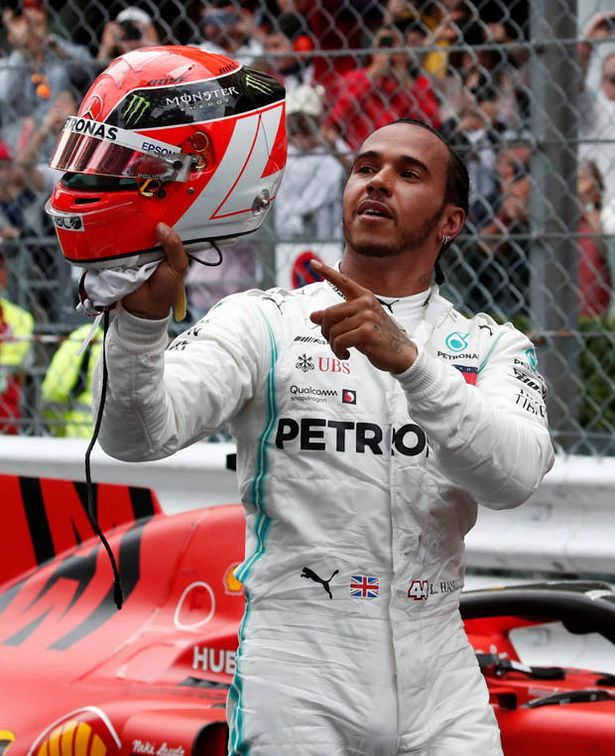 Lewis Hamilton paid tribute to Lauda after his win in Monaco