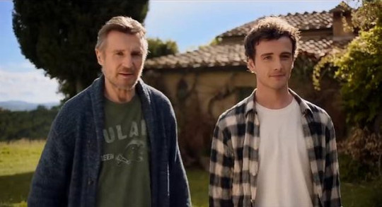 Liam Neeson and son Micheal Richardson