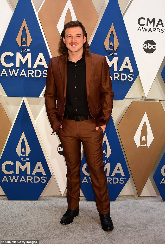 In the blink of an eye: Country star Morgan Wallen's radio ban may be starting to ease after a station in Knoxville, Tennessee, started playing his music again, Radio Ink reported on Monday; seen in October