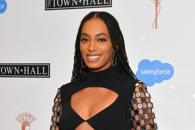 Solange Knowles attends The Lena Horne Prize For Artists Creating Social Impact