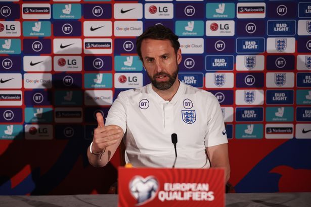 Southgate called a players' meeting after the Albania win