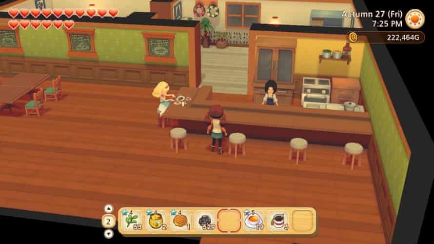 Food for thought ... Story of Seasons: Pioneers of Olive Town.