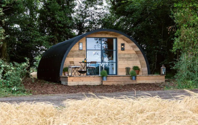 Airbnb most wishlisted homes of 2021 The Pigsty, Winchester Picture: Airbnb