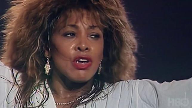 Tina Turner in HBO documentary Tina
