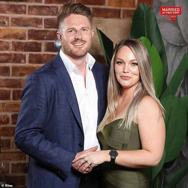 Producers in the firing line: Viewers have slammed Married At First Sight producers for allowing Bryce Ruthven's (left) gaslighting behaviour towards 'wife' Melissa Rawson (right) to play out on screens