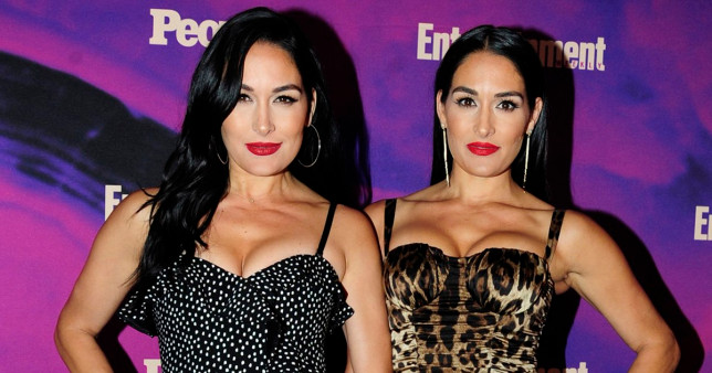 NEW YORK, NY - MAY 13: Brie Bella and Nikki Bella attend Entertainment Weekly And People Celebrate The New York Upfronts at Union Park, NYC on May 13, 2019 in New York City. (Photo by Paul Bruinooge/Patrick McMullan via Getty Images)