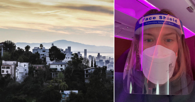 What it's like to travel to LA in the middle of a pandemic - and stay there