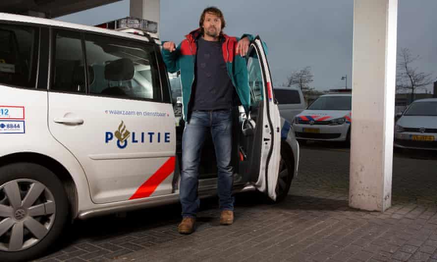 Detective Arjan de Zeeuw in Alkmaar, Netherlands in 2015.