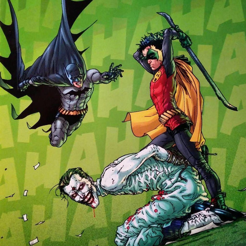 Joker in Batman and Robin by Grant Morrison