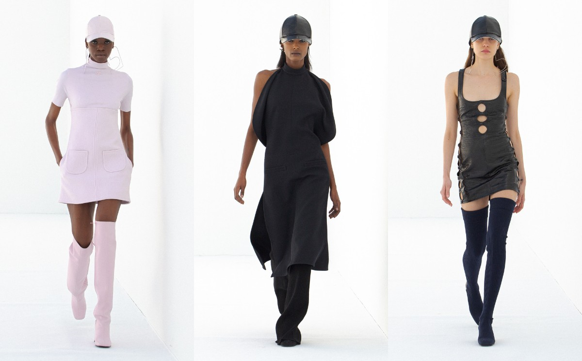 Nicolas Di Felice presents first collection for Courrèges