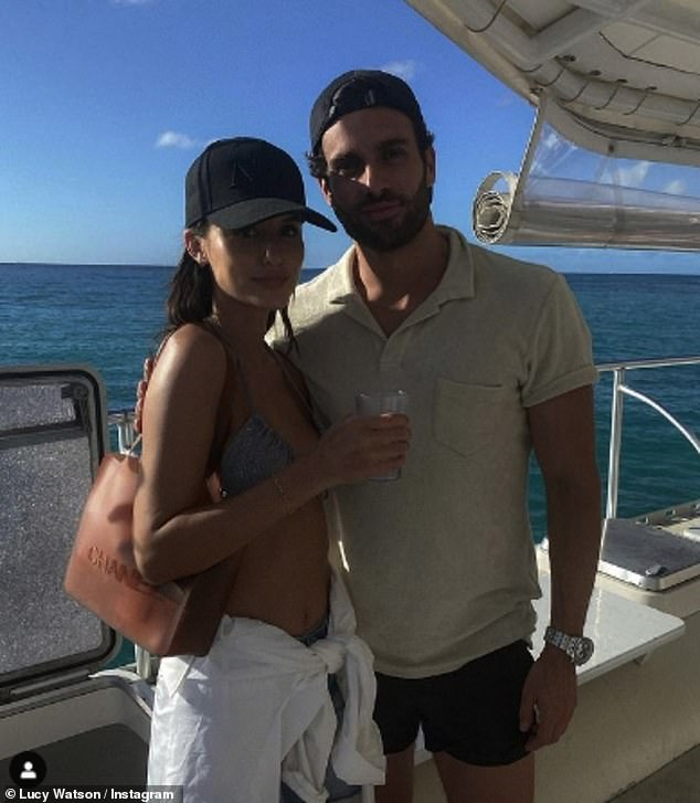 Annoyed: It comes after the former MIC star hit out at trolls after she received a barrage of abuse for enjoying a festive trip abroad during the coronavirus pandemic withfiancé James Dunmore