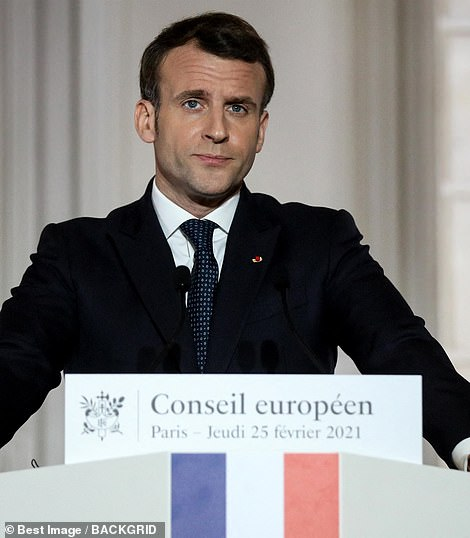 France's Emmanuel Macron even went as far as to claim the jab was 'quasi-ineffective' at protecting the elderly