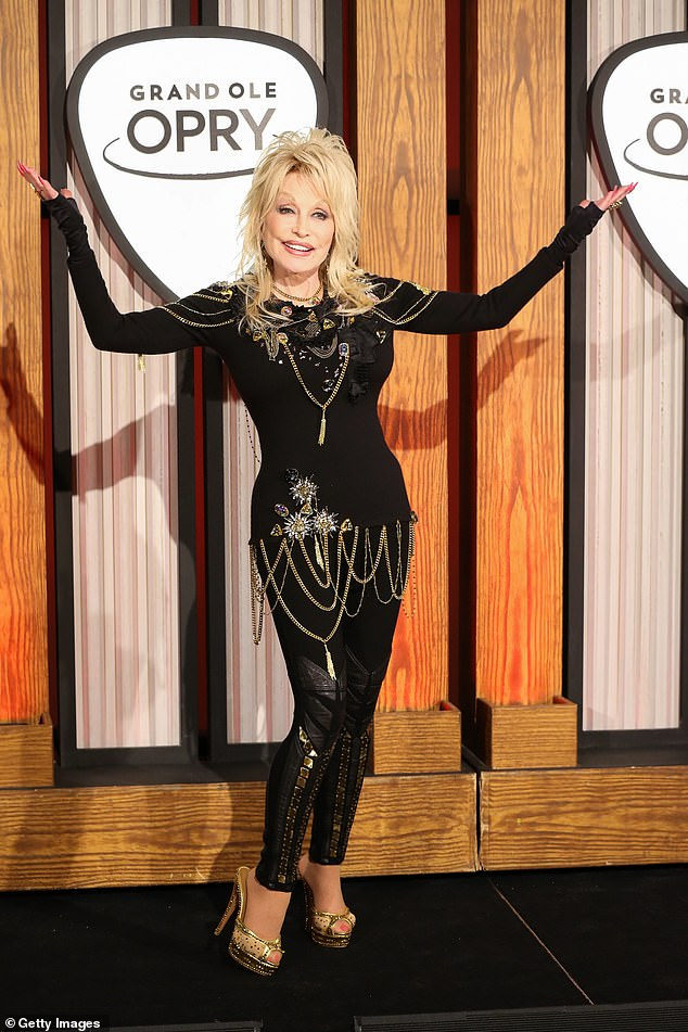 'But I don't work for those awards. It'd be nice but I'm not sure that I even deserve it. But it's a nice compliment for people to think that I might deserve it,' said Parton (pictured in 2018)