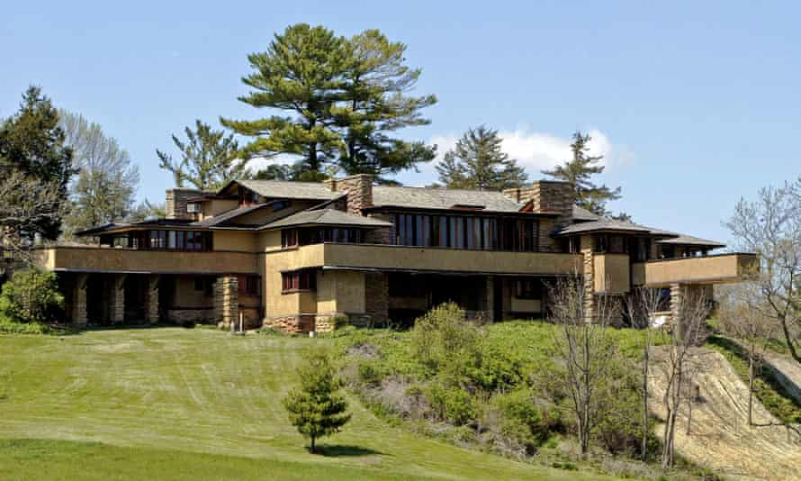 Taliesin, Frank Lloyd Wright's Wisconsin estate.