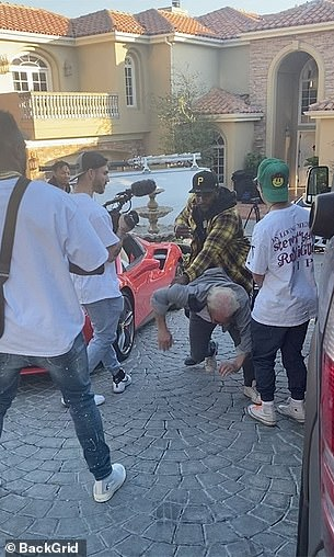 Pagar said that when he confronted the rapper on the day of the December 2, 2020 shoot, he was thrown to the ground by an associate of the rapper identified in court docs as DOE 1