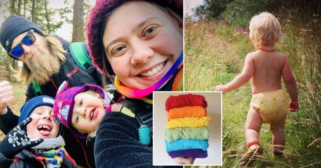 sara bills, an eco-friendly parent