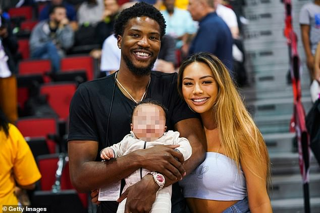 Questions:The professional basketball player motioned to prove the paternity of the pair's two-year-old son, Makai, in a Minnesota courtroom on Monday and has reportedly already taken a test to learn if he is the biological father, according to Us Weekly