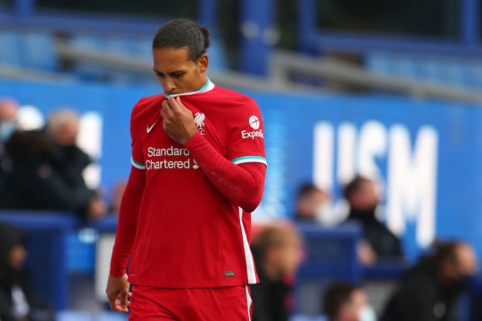 A serious knee injury to Van Dijk saw Fabinho have to fill in at centre-back