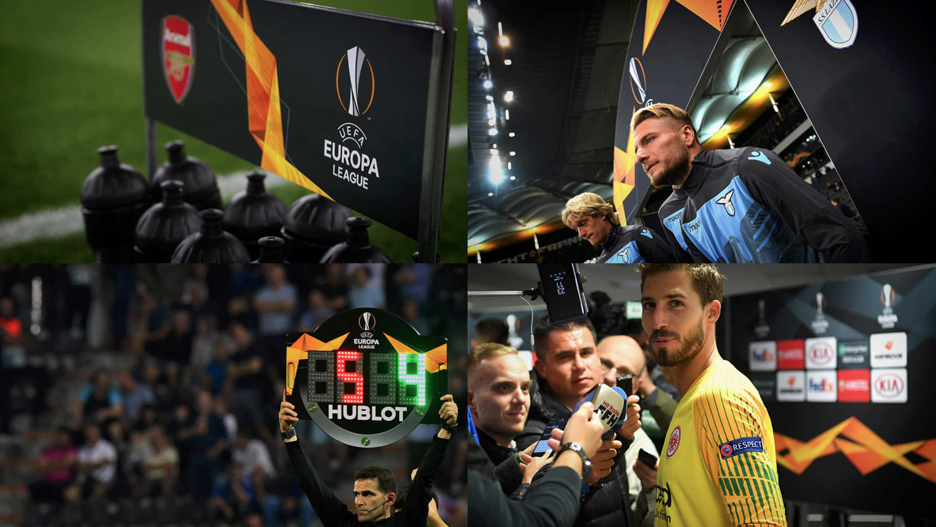 Turquoise Branding UEFA Europa League