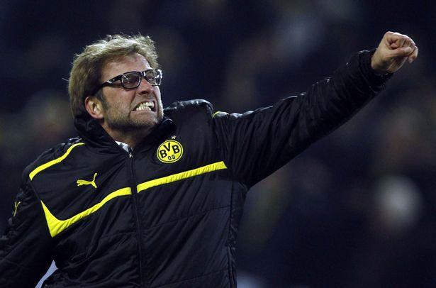 Klopp during his Dortmund days
