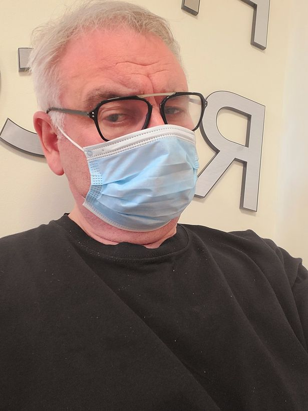 Eamonn Holmes in hospital with chronic pain