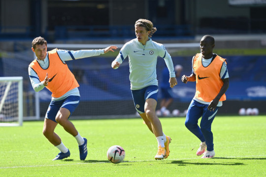 Conor Gallagher Chelsea Pre-Season Training