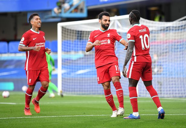 Liverpool's strike force has struggled for goals in recent months
