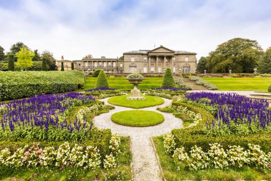 TATTON PARK, CHESHIRE, ENGLAND, UK - SEPTEMBER 26, 2017 : The Italian Garden of Tatton Hall in Cheshire.; Shutterstock ID 735455701; Purchase Order: -