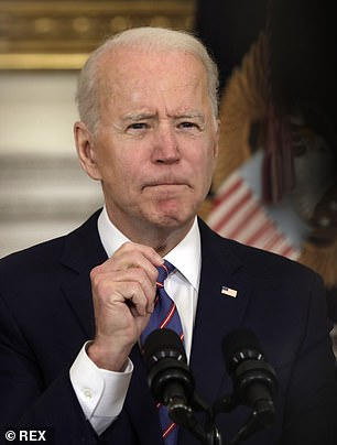 President Biden's initial aim of getting 100 million shots in arms in the first 100 days of his term was a modest one, reached last month. Now, more than 100 million people have had at least one dose, and Biden is aiming to get 200 million shots in arms between Inauguration Day and April 30